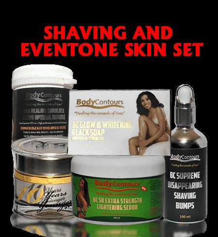 BC Shaving & Even Tone SKIN SET